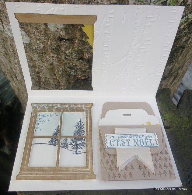 Carte d'atelier stampin up