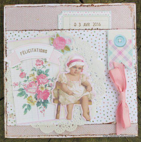 Boite de naissance et sa carte assortie