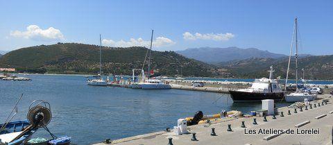 Le petit St Tropez de la Corse qui acceuille de beau bateaux