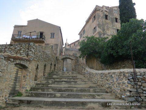 Intérieur du village