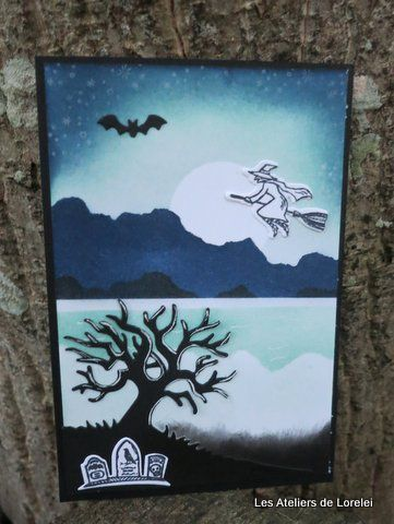 Carte d'haloween
