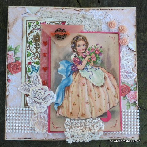 Carte shabby princesse