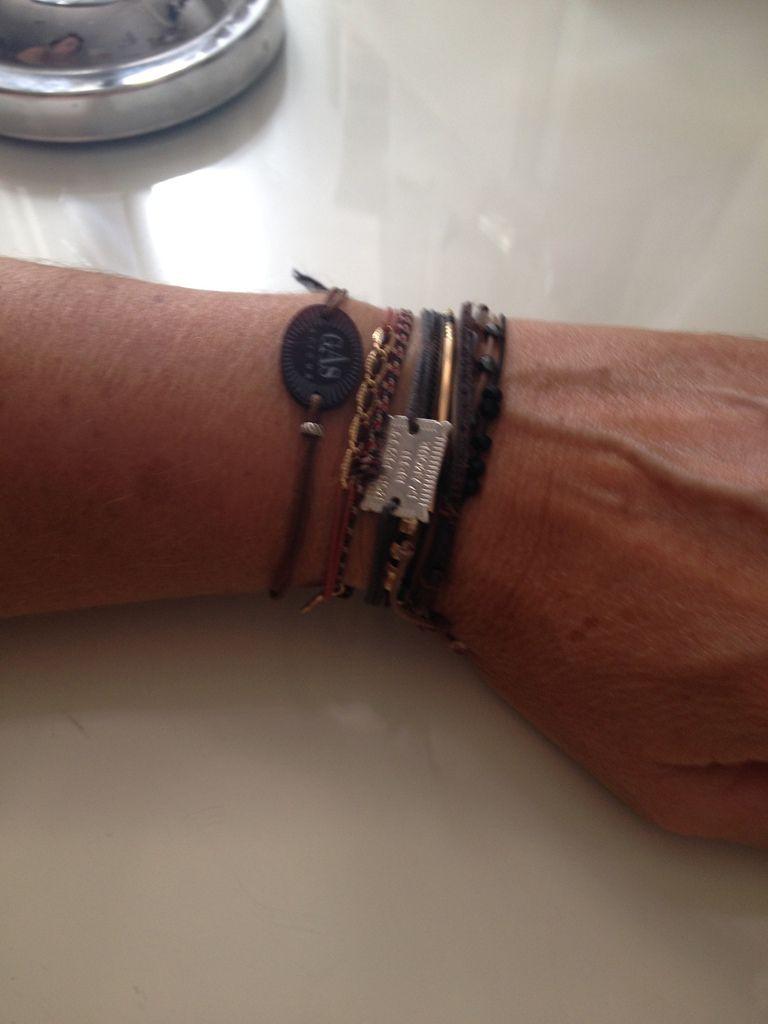 Bracelets cordon Brin D'amour, Gas , Un jour mon Prince
