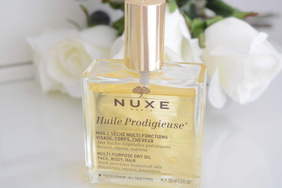 Je teste L'huile Prodigieuse de chez NUXE