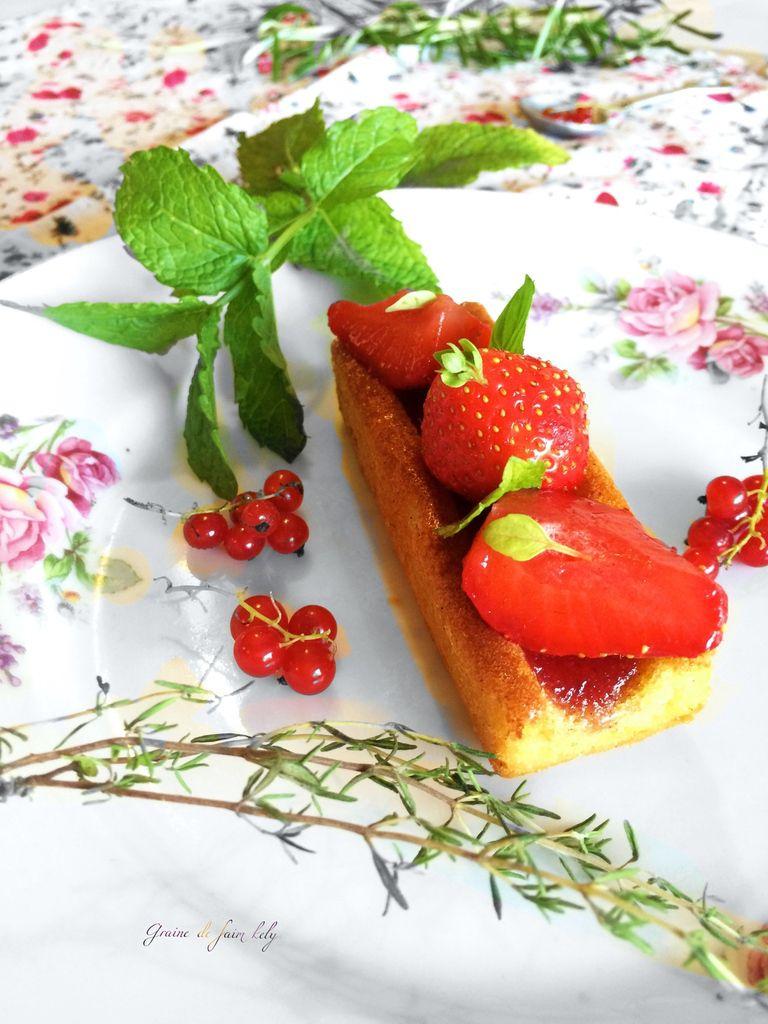 Tartelettes aux fraises à ma façon