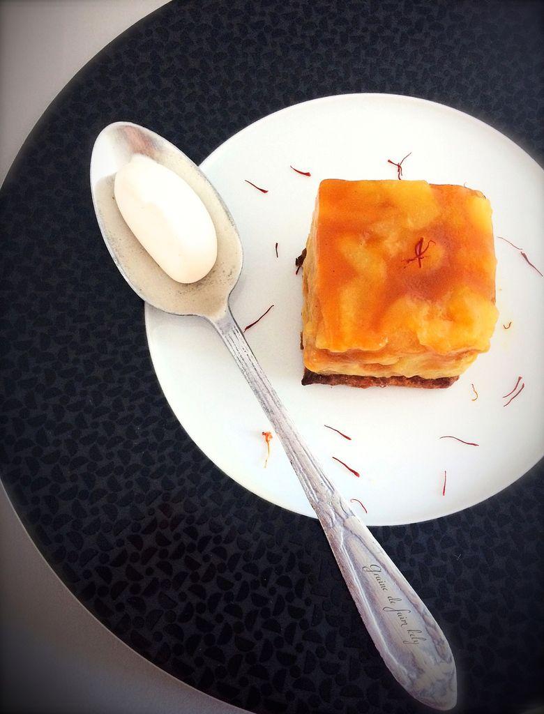 Tatin de poires au safran - Battle Food #45