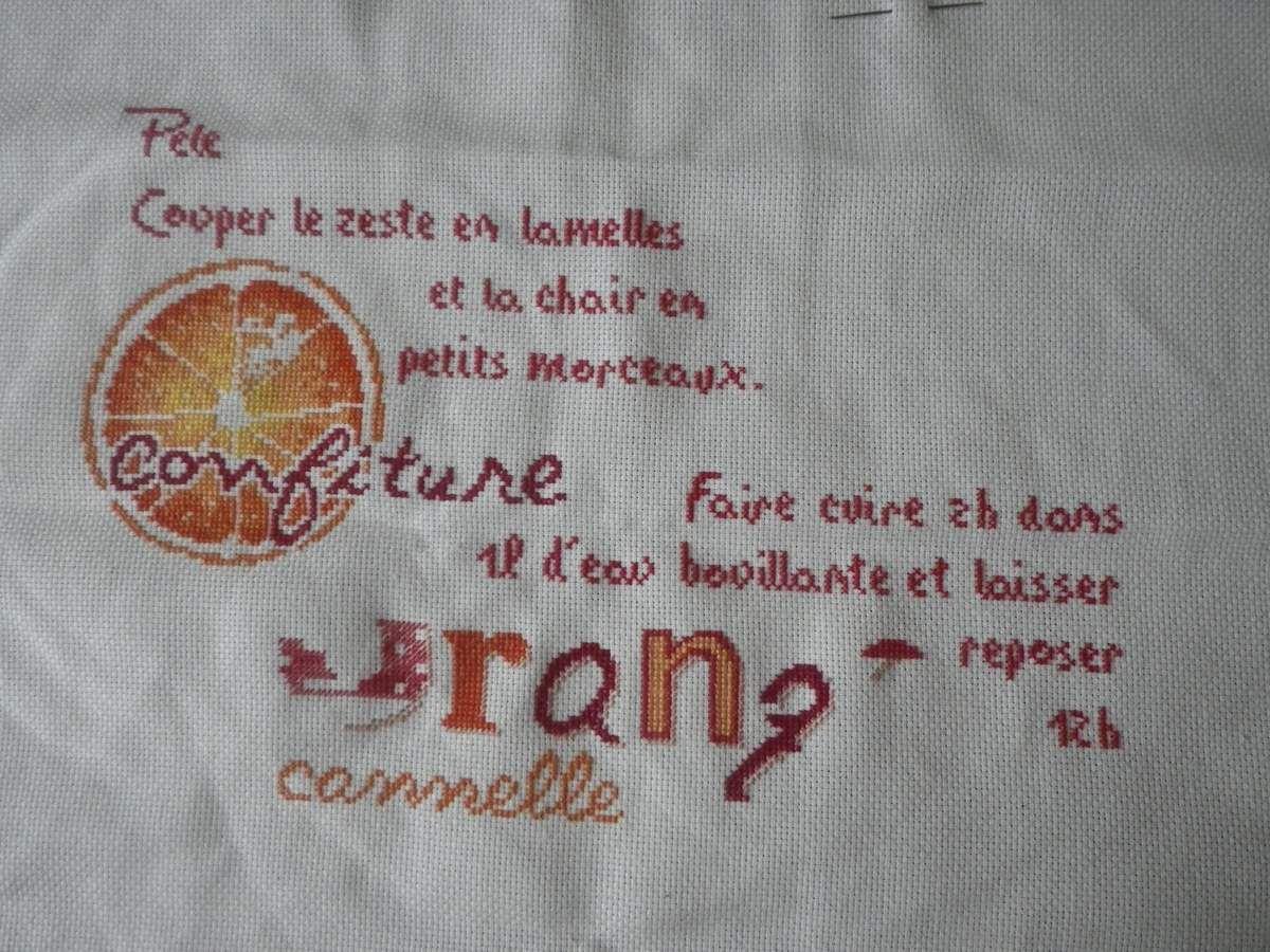 SAL Lili Points Confiture d'Orange 4