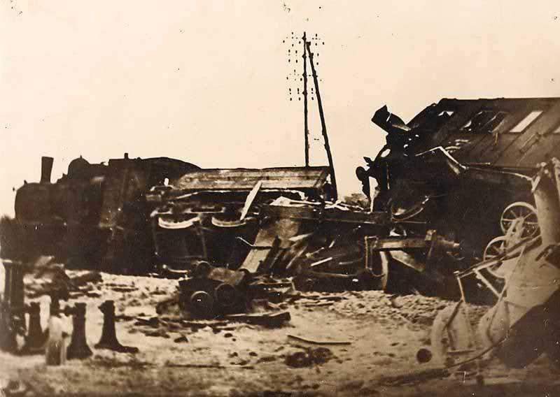 Sabotage ferroviaire d'un maquis de l'Allier