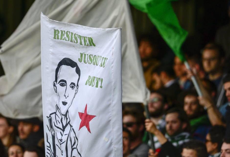 Banderolle représentant Rino DELLA NEGRA au stade Bauer