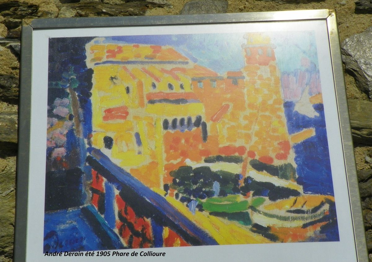 Collioure for Matisse fenetre ouverte collioure