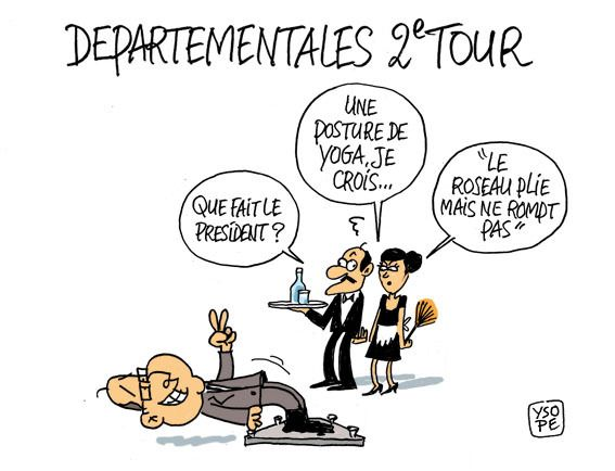 Départementales second tour