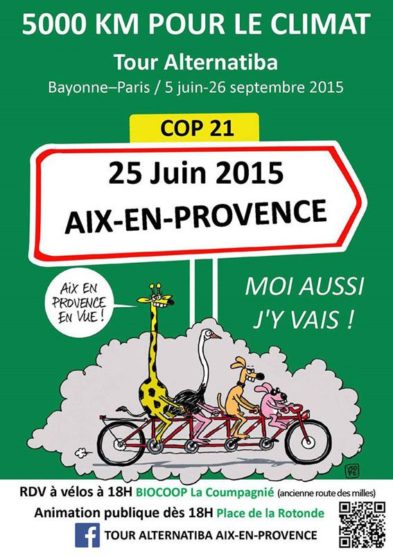 Affiche Alternatiba Aix