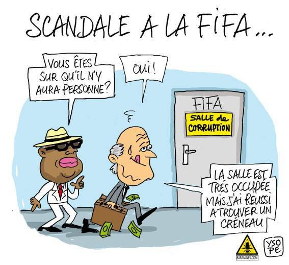 fifa corruption By peter berlin the investigative journalists sifting through the panama papers can hardly have been surprised when the names of leading soccer officials started cropping up in connection.