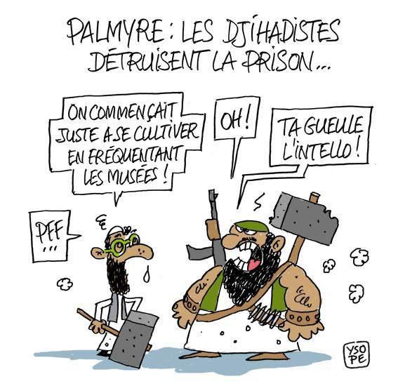 Daech à Palmyre