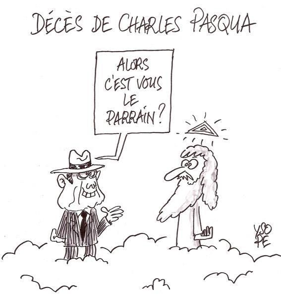 Décès Charles Pasqua