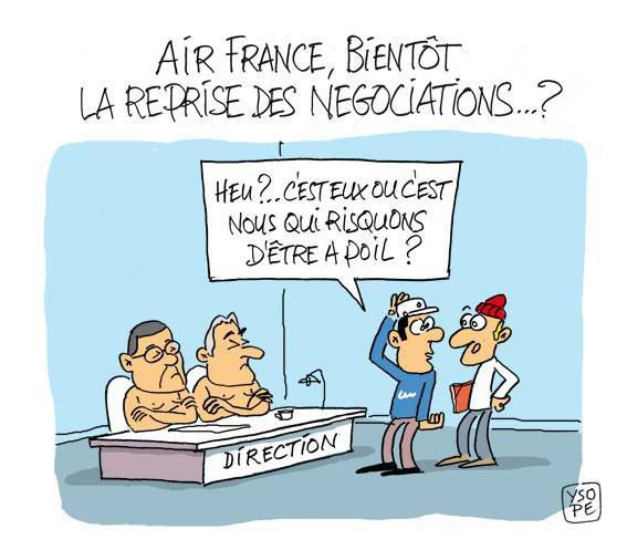 Suite agression du DRH à Air France...