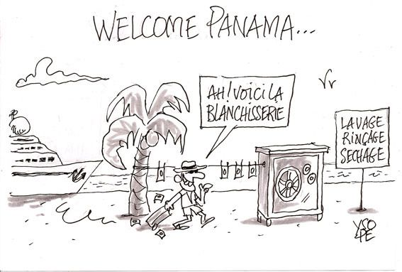 Croquis Panama Papers