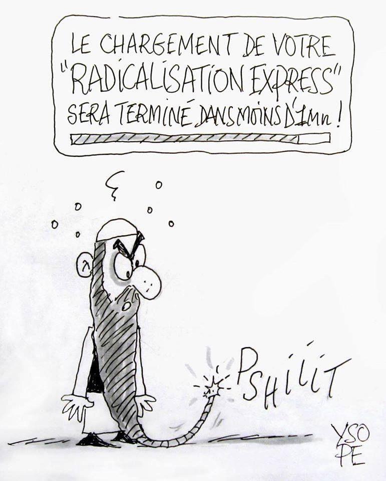 Radicalisation express...