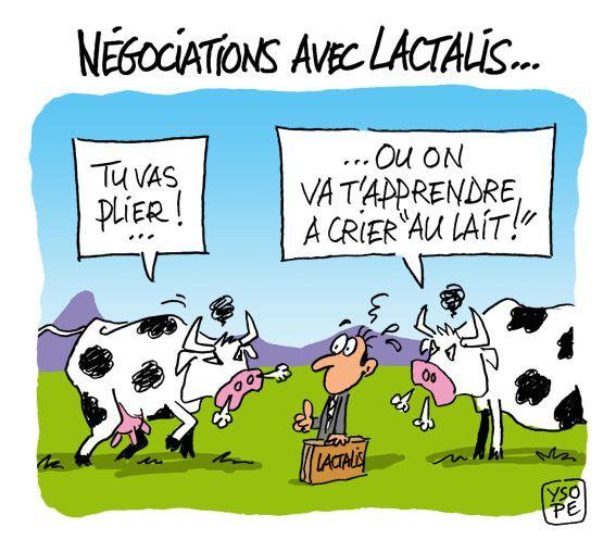 Crise du lait et Lactalis