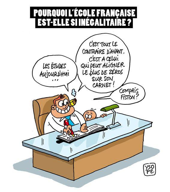 Le système éducatif Français aggrave les inégalités