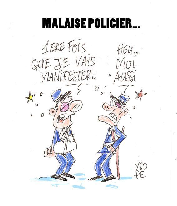 Malaise policier
