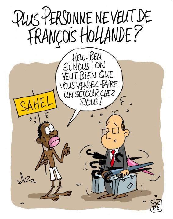 François Hollande quitte l'Elysée...
