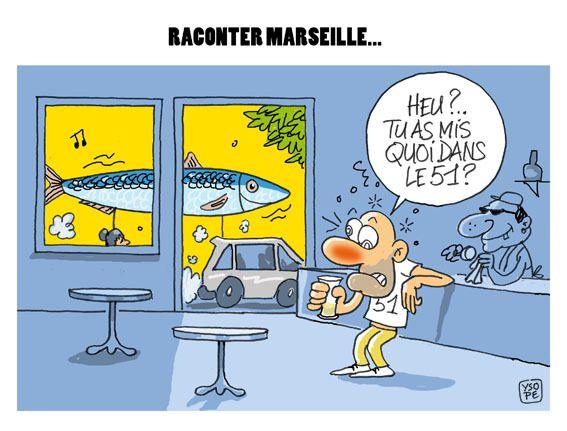 Raconter Marseille...