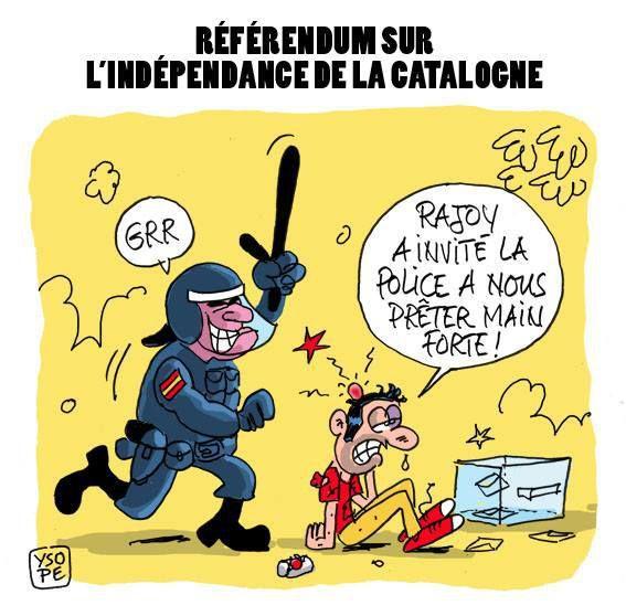 Référendum en Catalogne...