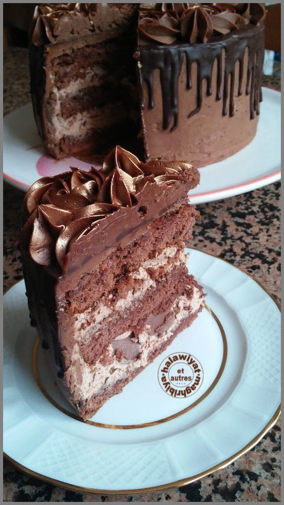 layer cake aux kinder bueno