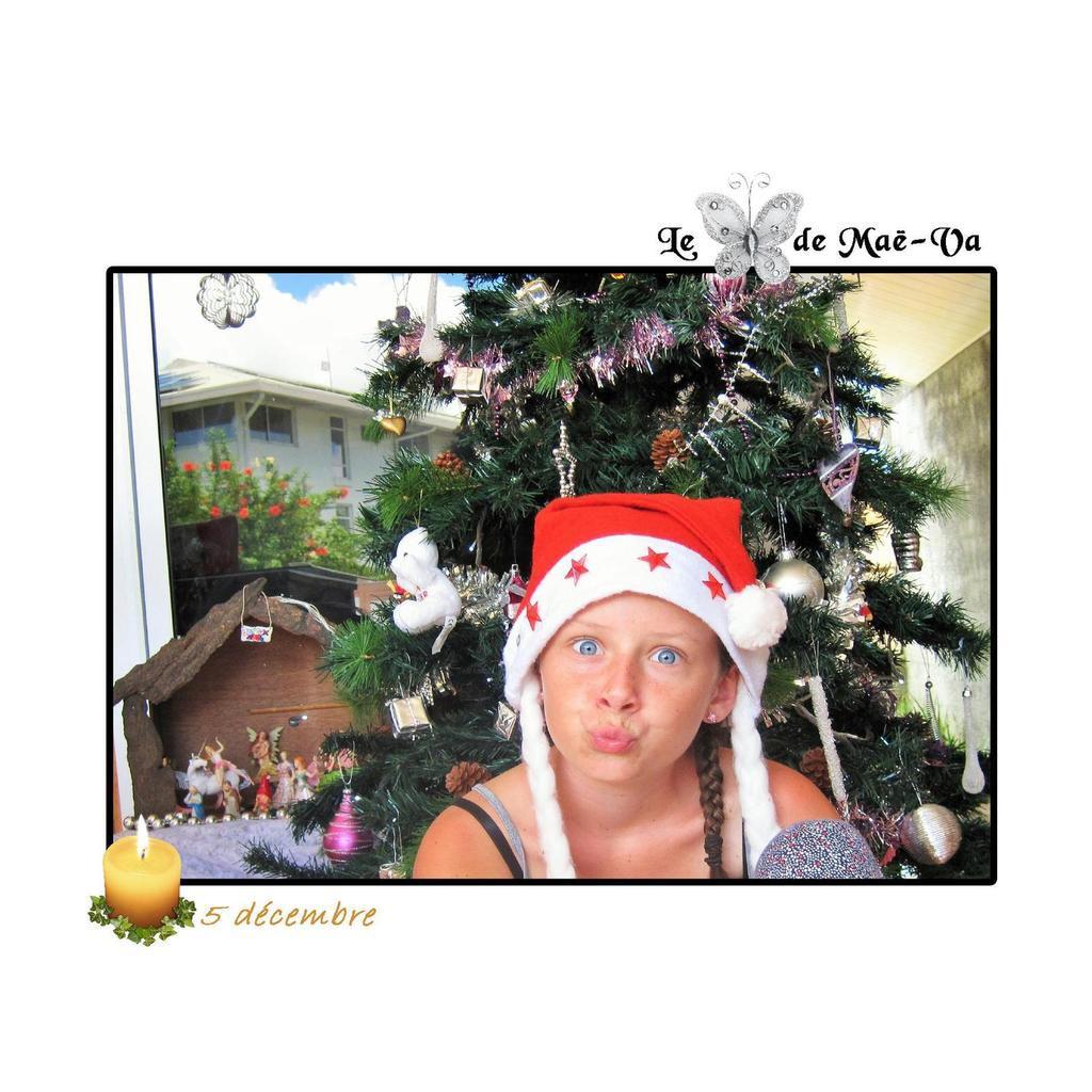 Ca y est, le sapin est fait ! La magie de Noël est en route !