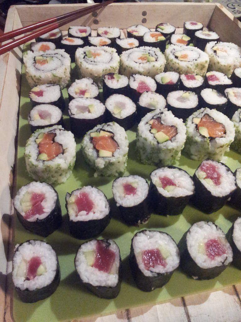 La recette du mois // Maki au saumon