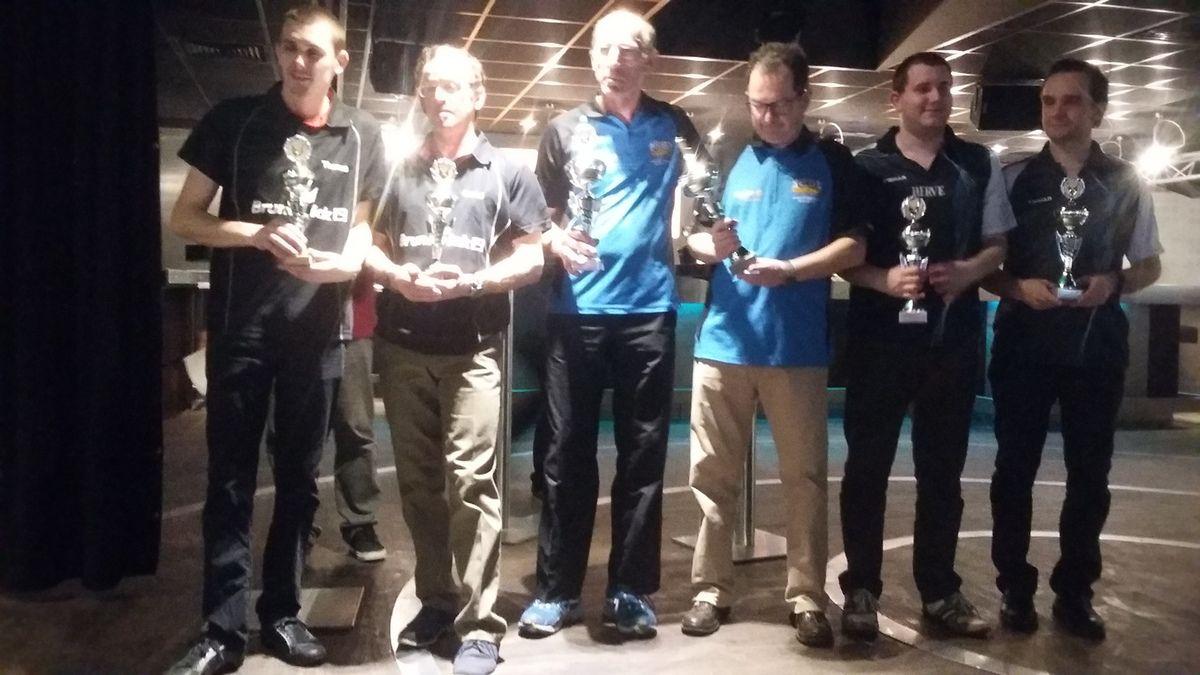 Résultats Championnat Doublettes 2016 Honneur Annecy