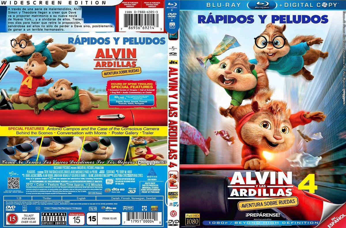 Alvin Y Las Ardillas 4 Estrenos