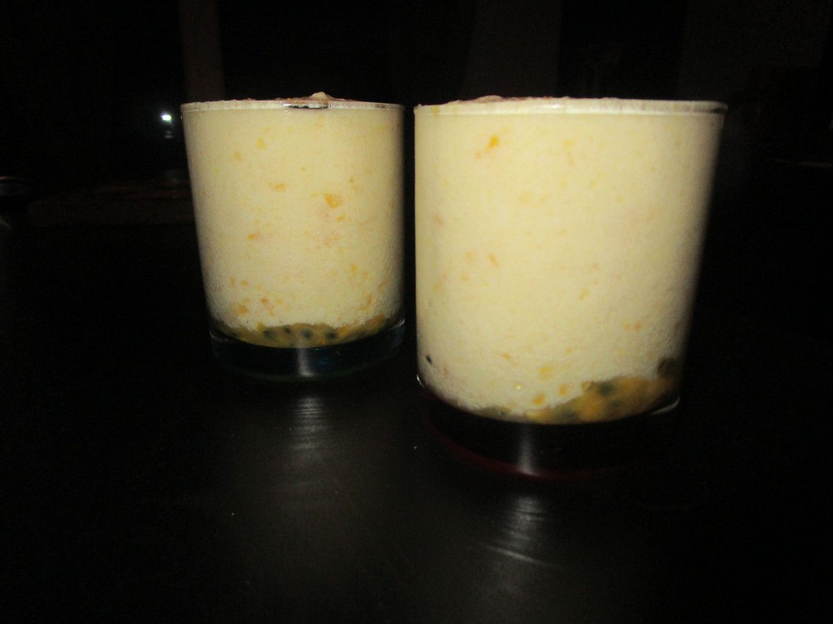 Mousse mangue passion