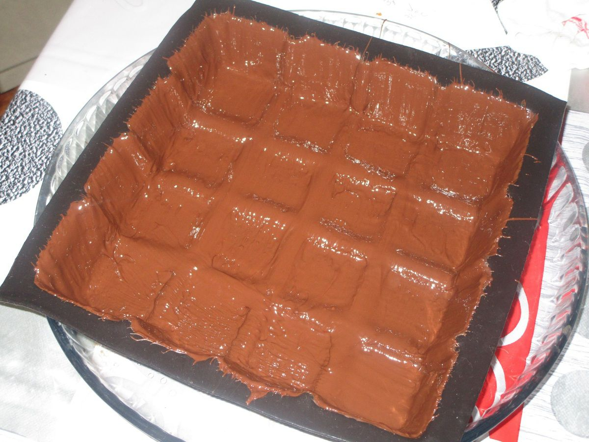 Crousti-fondant chocolat framboise