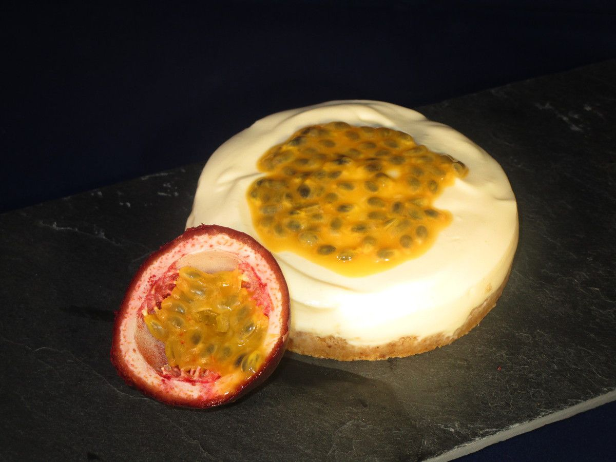 Mini cheesecake vanille passion