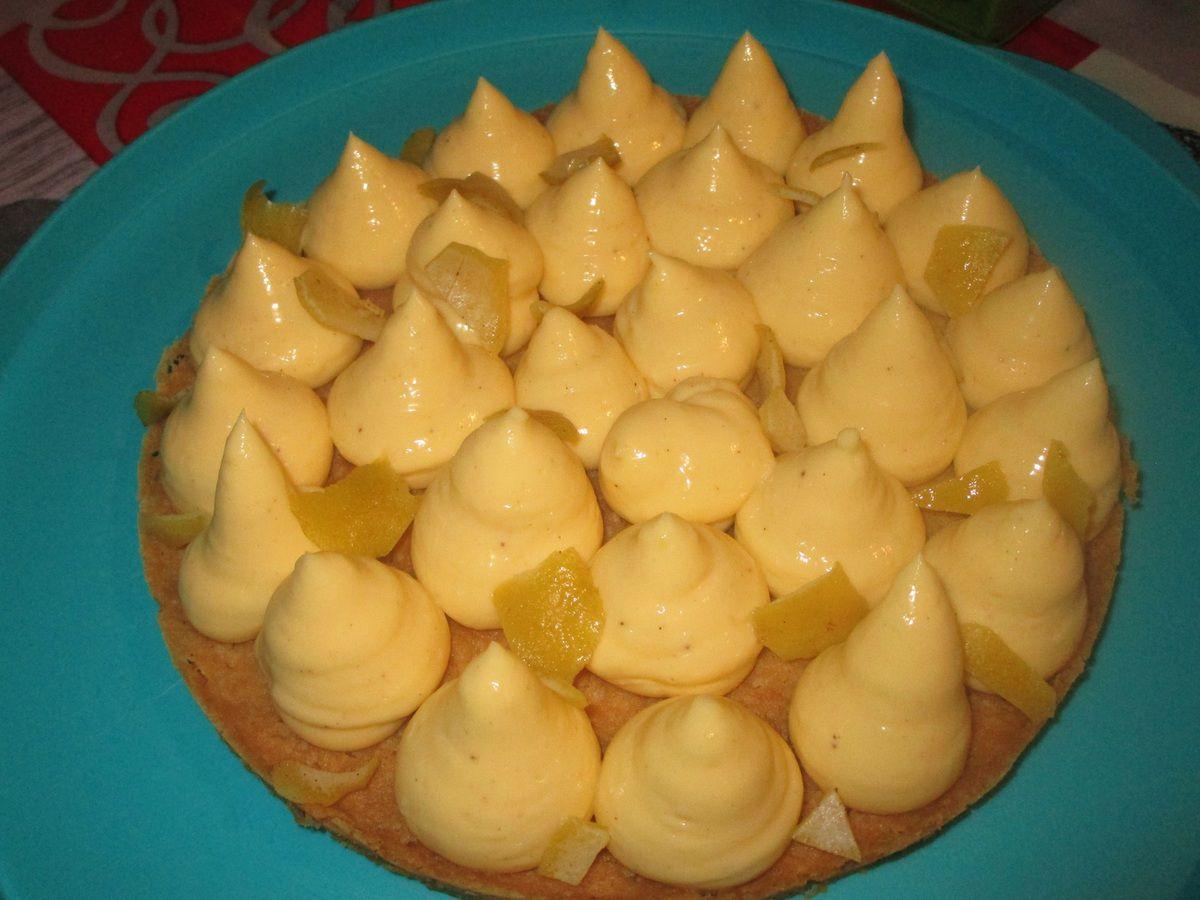 Tarte citron façon Christophe Michalak