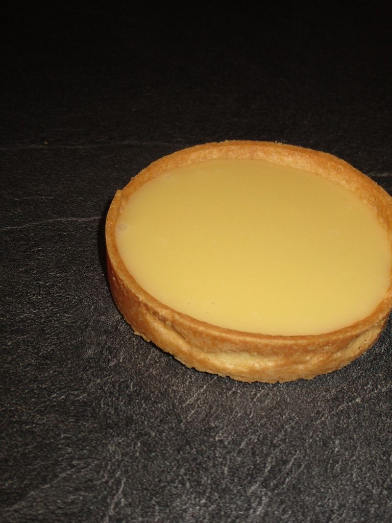 Tartelette chocolat blanc fruit de la passion