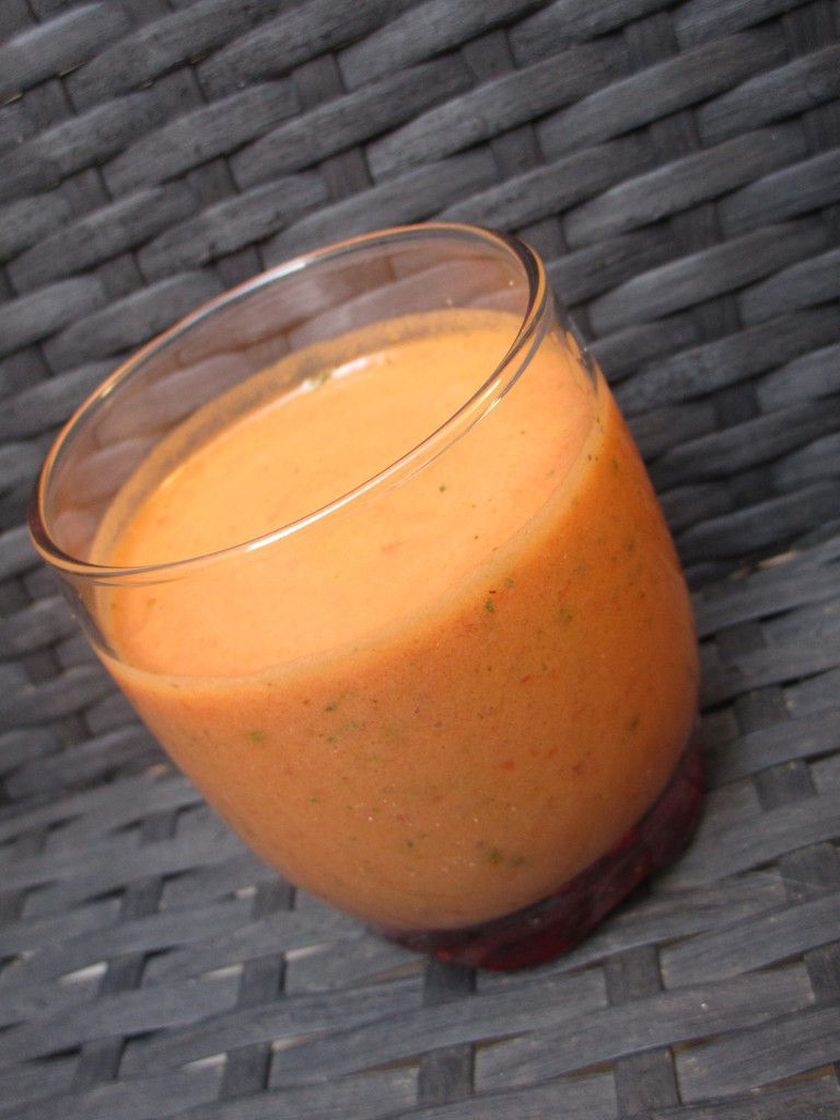 Gaspacho tomate poivron