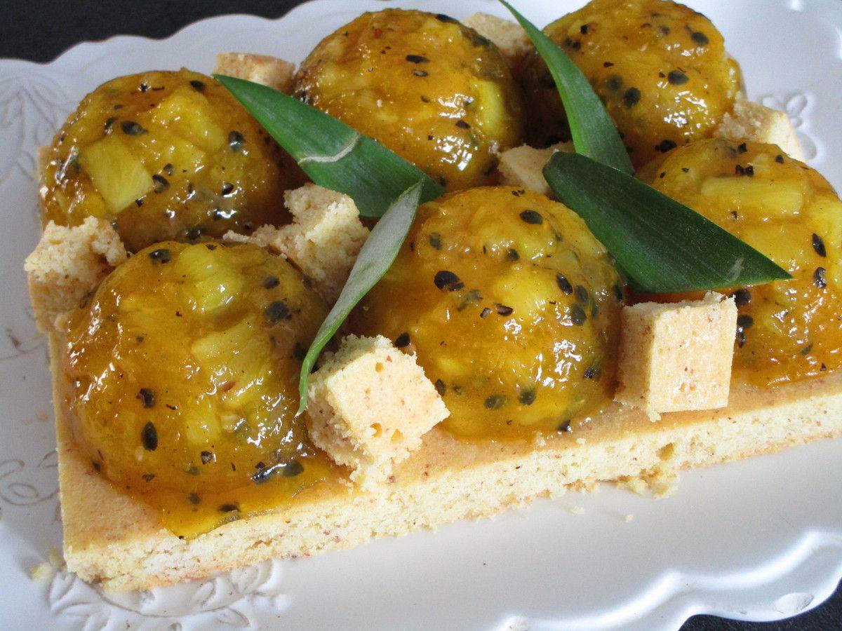 Tarte passion ananas
