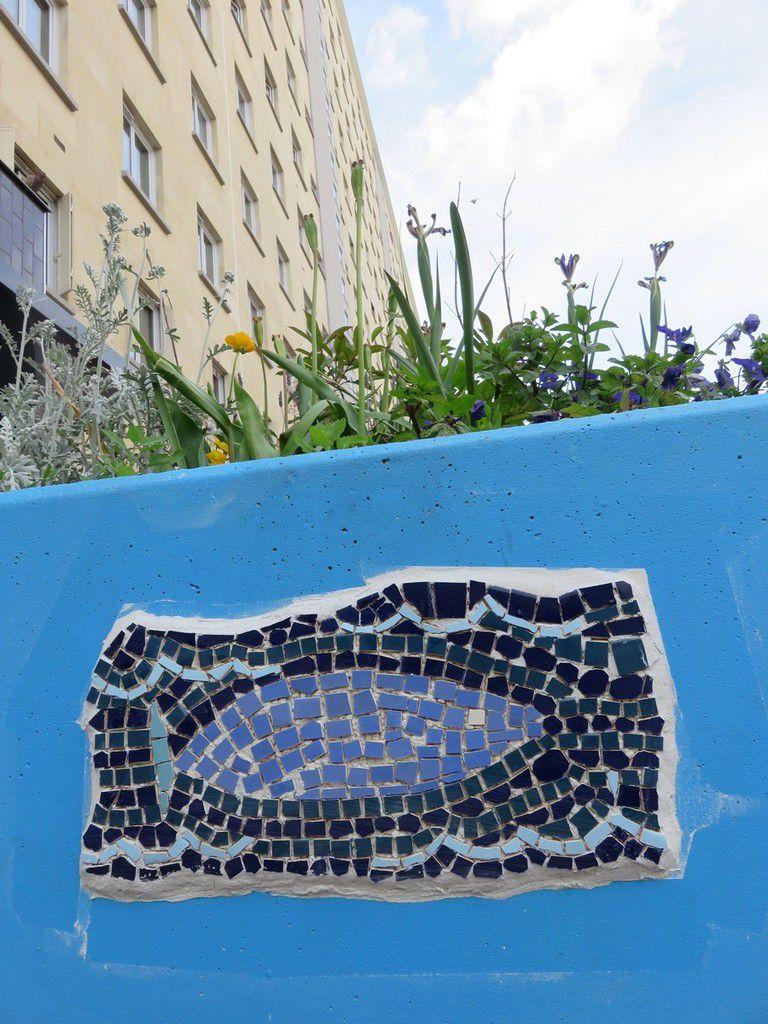 Ateliers de mosaïque - résidence Elie Faure