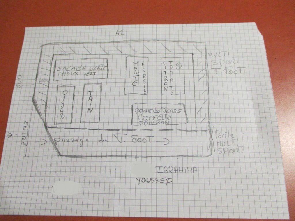 Premiers ateliers de jardinage - dispositif respecto (maison d'arrêt de Villepinte)