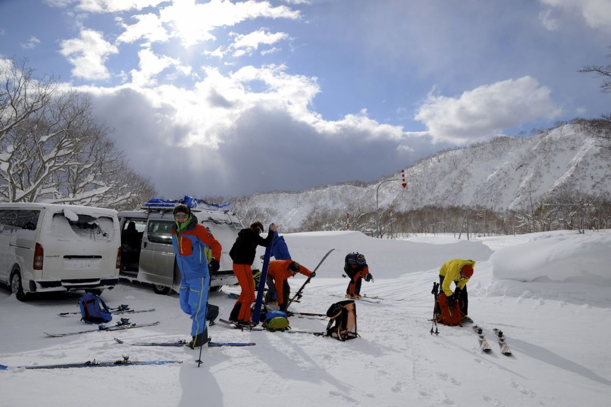 Welcome Hokkaido !!! vive la poudre