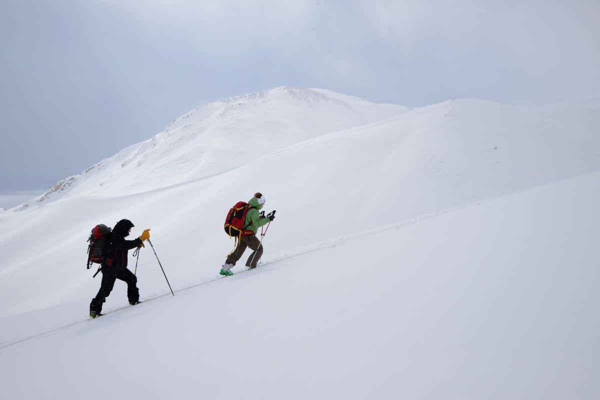 Iran - ski de randonnée de village en village