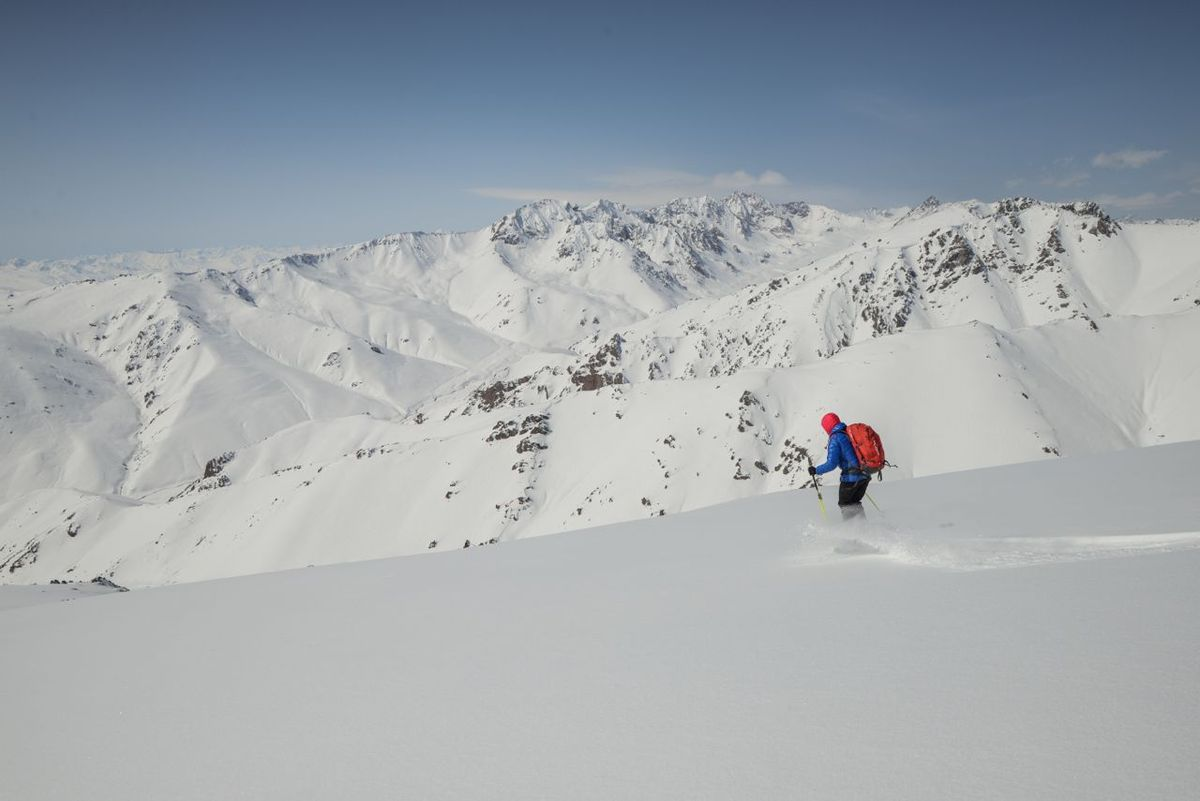 Ski de randonnée au Kirghizistan