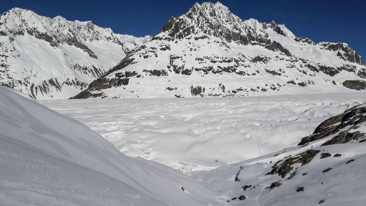 Aletschhorn - ski de randonnée