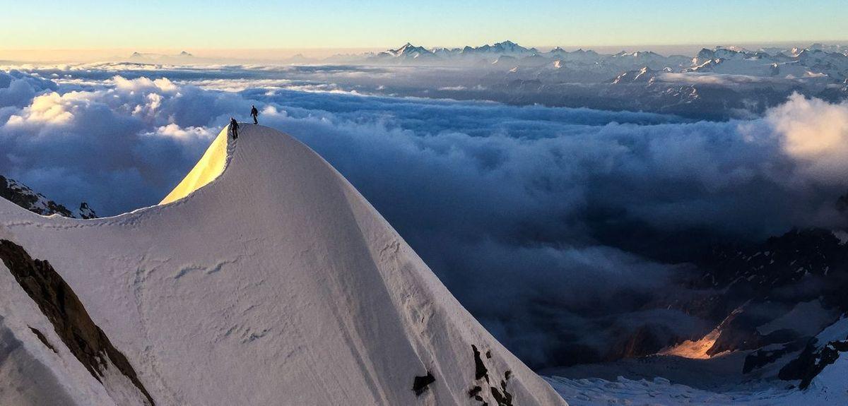Arête Kuffner - mont Maudit