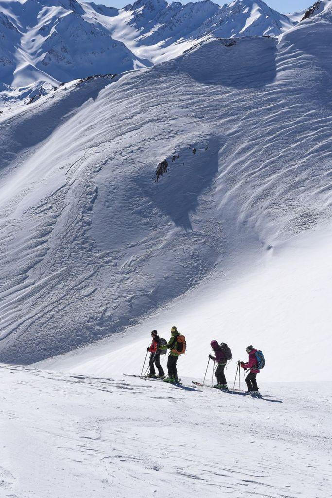 IRAN - voyage à ski dans les ZARGHOUD