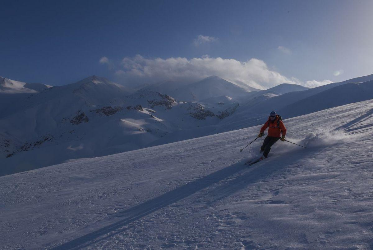 IRAN - Partie 2 - Ski à Taleghan