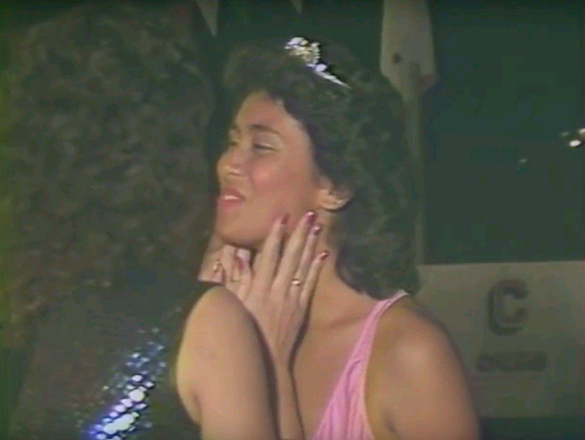 Miss Bourail en 1986